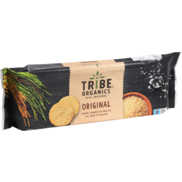 Photo of Tribe Organics Original Rice Crackers 100g