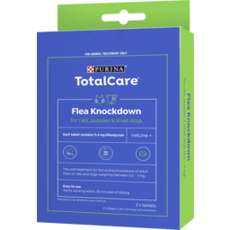 Photo of Purina Total Care Flea Knockdown For Cats, Puppies & Small Dogs 3x