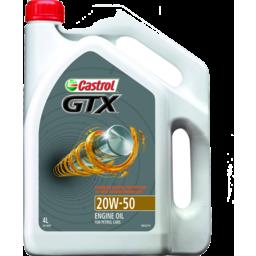 Photo of Castrol Gtx Oil 20w-50 4l