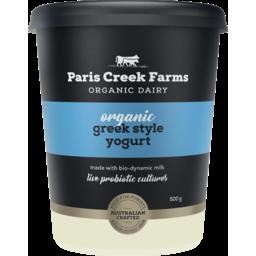 Photo of Paris Crk Yoghurt Org Greek 500g
