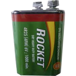 Photo of Rocket Heavy Duty Lantern Battery 6v