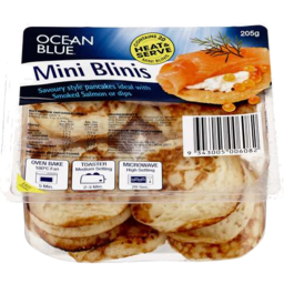 Photo of Ocean Blue Mini Blinis 20pk 205gm