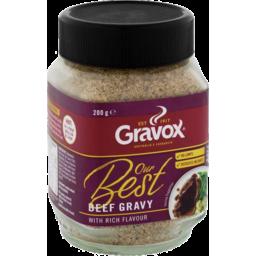 Photo of Garvox Our Best Beef Gravy With Rich Flavour 200gm