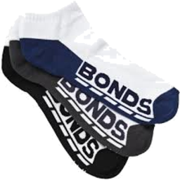 Photo of Bonds Sock Men's Low Cut iSize 11-14  3 Pair