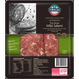 Photo of Tibaldi Signature Free Range Mild Salami 100gm