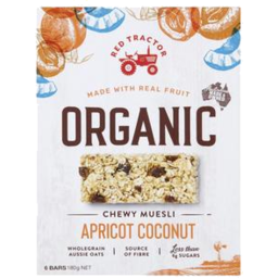 Photo of Red Tractor Apricot & Coconut Museli Bars 180g