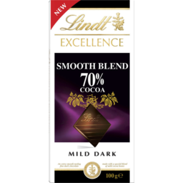 Photo of Lindt Excellence Smooth Blend 70% Cocoa 100gm