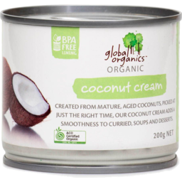 Photo of Global Organics Coconut Cream
