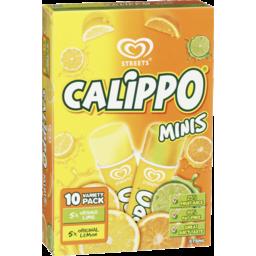 Photo of Streets Calippo Minis 10 Variety Pack 575ml 5xorange 5xoriginal Lemon