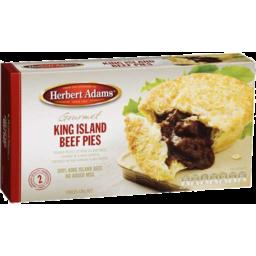 Photo of Herbert Adams 2 King Island Beef Pies