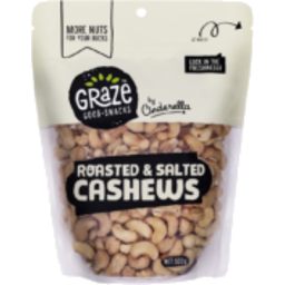 Photo of  Graze Roasted Salted Cashew 500