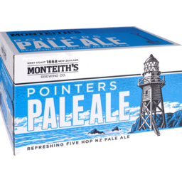 Photo of Monteiths Pointers Pale Ale Bottles