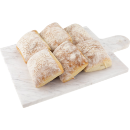 Photo of Ciabatta Rolls 6 Pack