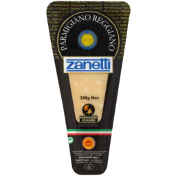 Photo of Zanetti Parmigiano Cheese 200gm