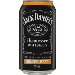 Photo of Jack Daniel & Ginger Beer Can