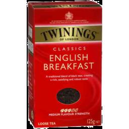 Photo of Twinings English Breakfast Leaf Tea 125g