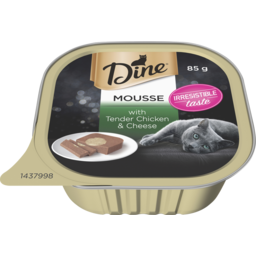 Photo of Dine Mousse With Tender Chicken & Cheese 85g