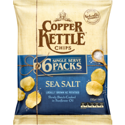 Photo of Copper Kettle Chips Sea Salt 6 Pack