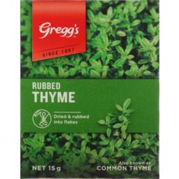 Photo of Gregg's Seasoning Packet Thyme 15g