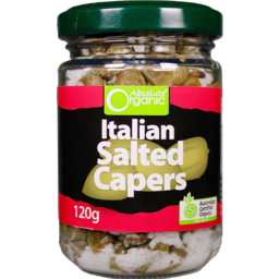 Photo of Absolute Organic Salted Capers 120gm