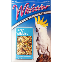 Photo of Whistler Large Wildbird Bird Food 2kg