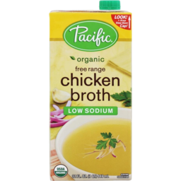Photo of Pacific Natural Foods Broth - Chicken (Low Sodium)