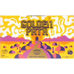 Photo of Garage Project Golden Path Hazy Indian Pale Ale 6 x 330ml