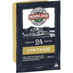 Photo of Mainland Cheese Vintage 24 Months 400g