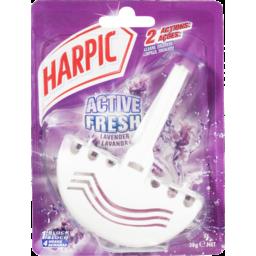 Photo of Harpic Active Fresh Toilet Block Lavender 38gm