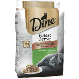 Photo of Dine Fine Serv Mixed 6x50gm