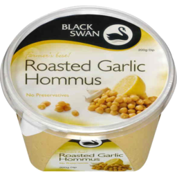 Photo of Black Swan Farmers Best Roast Garlic Hommus 200gm