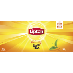 Photo of Lipt T/Bag Blk Tea Quality 25s