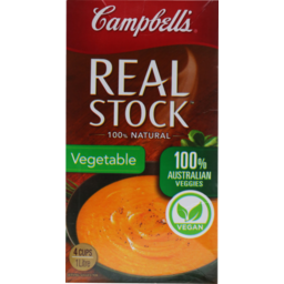 Photo of Campbell's Real Stock Vegetable 1 Litre