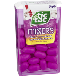 Photo of Tic Tac Mixers Berry Turn To Fresh Lemonade 24g