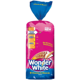 Photo of Wonder White + Vitamins & Minerals Toast Loaf 700g