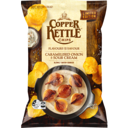Photo of Copper Kettle Caramelised Onion & Sour Cream 140g