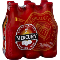 Photo of Mercury Draught Cider Stubbies