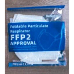 Photo of Ffp2 Face Masks N95 2pk