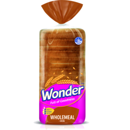 Photo of Wonder White Wholemeal + Iron Sandwich Loaf 700g