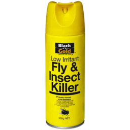 Photo of Black & Gold Fly Insect Spray Low Irritant 300g