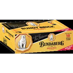 Photo of Bundaberg UP Rum & Cola Brick Cans