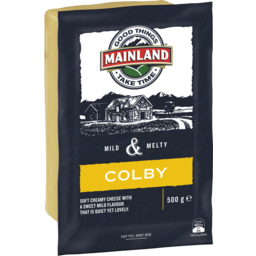 Photo of Mainland Colby Cheese 500g