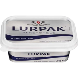 Photo of Lurpak Spreadable Danish Butter Slightly Salted 250gm