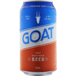 Photo of Mountain Goat Very Enjoyable Beer Can