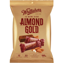 Photo of Whittakers Whittaker's Almond Slab 12 Pack 180gm