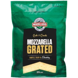 Photo of Mainland Cheese Grated Mozzarella 375g