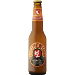 Photo of Matsos Alcoholic Ginger Beer Bottles