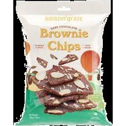 Photo of Amazin Grace Dark Choc Brownie Chips 140g