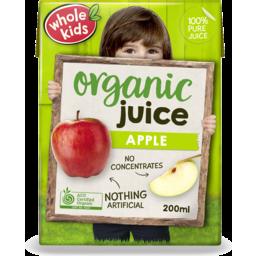 Photo of Whole Kids Apple Juice 200ml