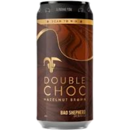 Photo of Bad Shepard Double Choc Hazelnut Brown 440ml